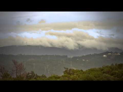 Correndo o tempo 001: Serra da Lousã vista de Coimbra