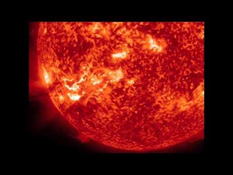 Solar eruption captured by Nasa