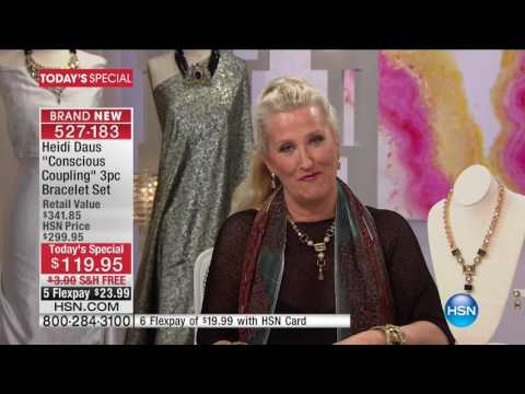 HSN   Heidi Daus Fashion Jewelry 01.24.2017 - 02 PM