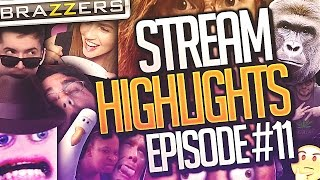 Mouth FULL of Brown Stuff & Zoom the Snail - Djarii Twitch Highlights Ep.11