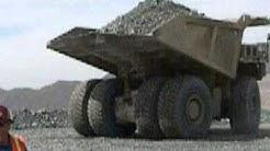 Huge dump truck at the Ray Mine, Arizona