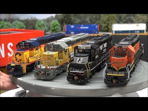 Review: ScaleTrains.com SD40-2 Rivet Counter & Operator Versions! ESU LOKSound Scale Trains