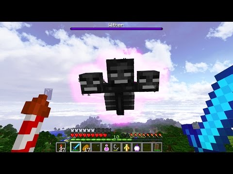 FIGHTING BOSSES IN THE NEW MINECRAFT UPDATE!! TTB #13