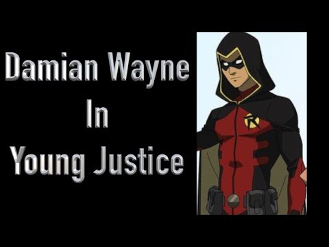 Damian Wayne In Young Justice Season 3: Outsiders - YouTube Young Justice Robin Damian Wayne