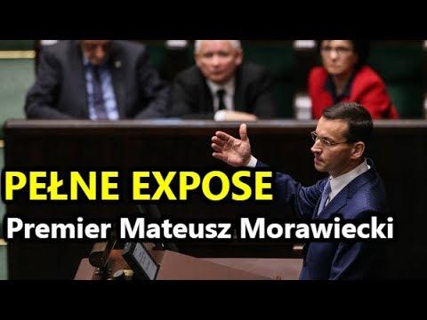 EXPOSE Premiera Morawieckiego (12.12.2017) - historyczne przemówienie