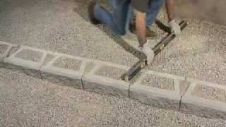 How To Build Stairs In Stone Block Wall