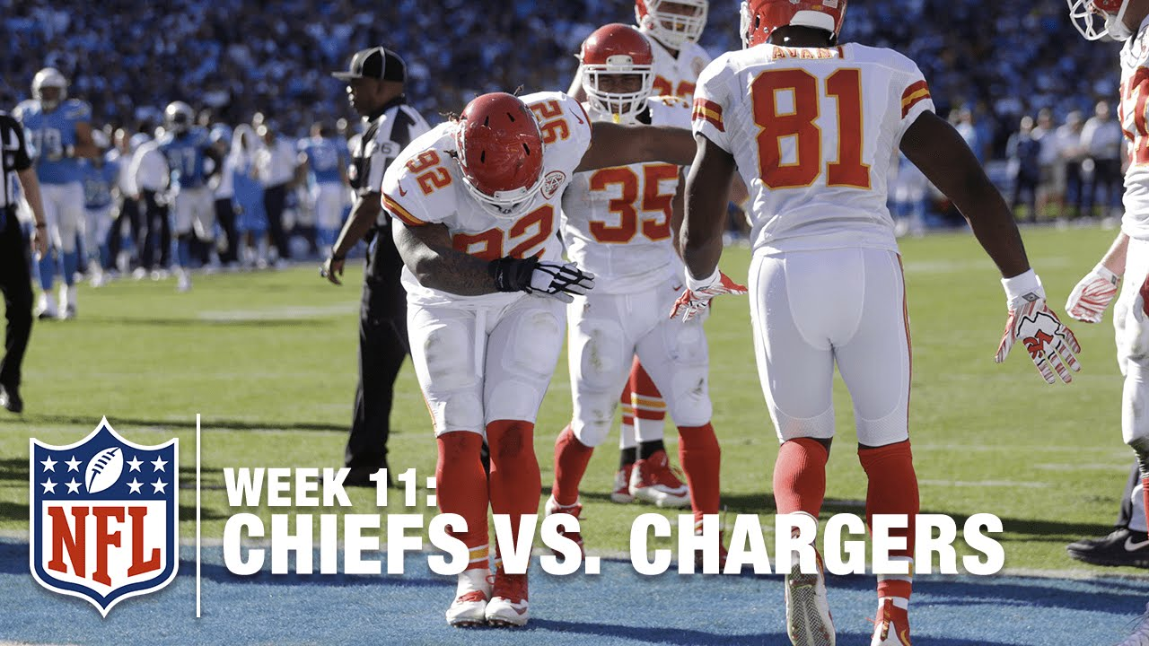 Gimmie Some Poe! Chiefs NT Dontari Poe Gets Airborne For A 1-Yard TD! | Chiefs vs. Chargers | NFL