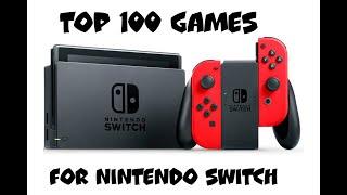 Top 100 Nintendo Switch Games (according To Metacritic)