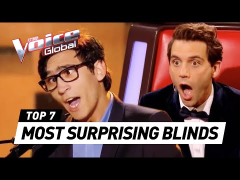 The Voice | MOST SURPRISING Blind Auditions worldwide [PART 3]