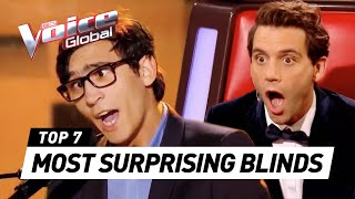 The Voice | MOST SURPRISING Blind Auditions worldwide [PART 3] thumbnail