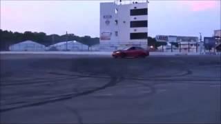 Car Drifting Fail and Immediate Explosion!!!!