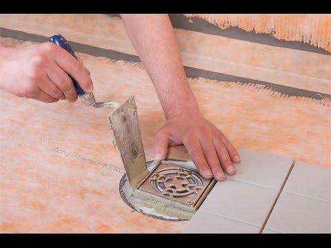 Installation encastr e receveur de douche panneaux x - Realiser une douche italienne sans receveur ...