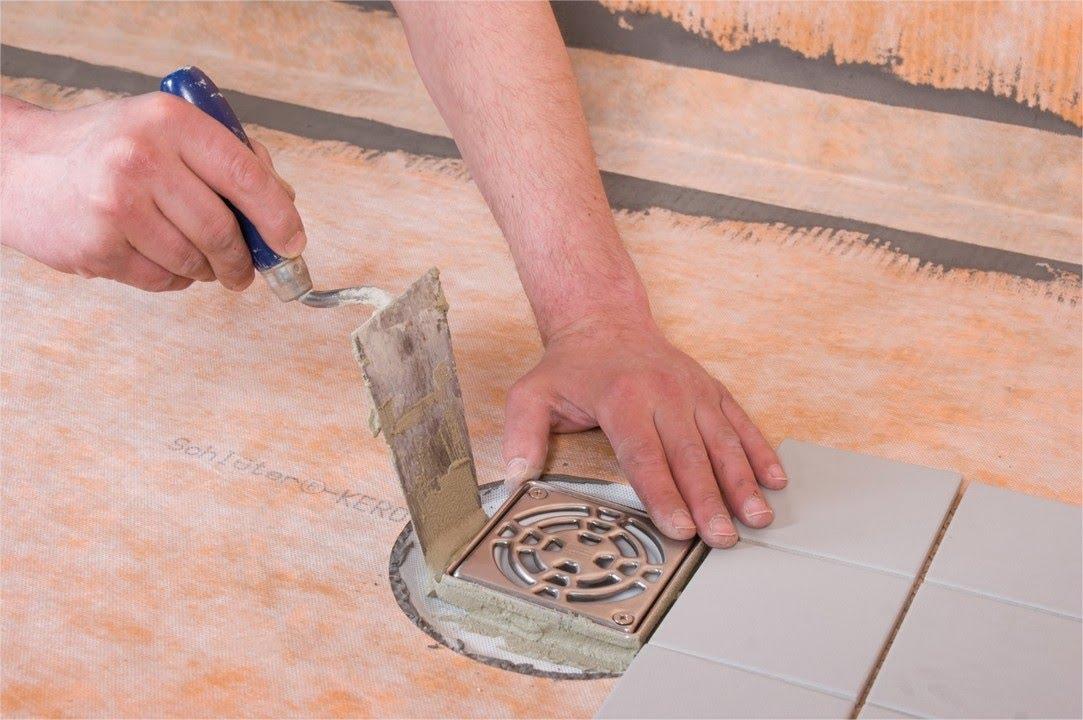 realiser une douche a l italienne avec un receveur pret a carreler