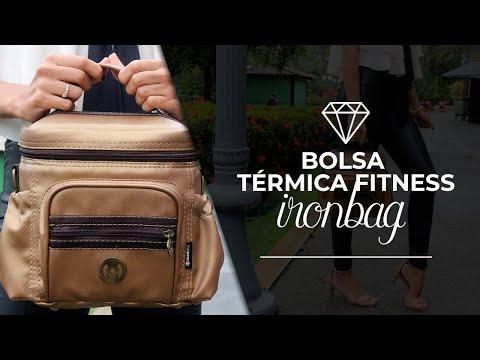 79f9b5cd9 Bolsa Térmica Fitness IRON BAG - YouTube
