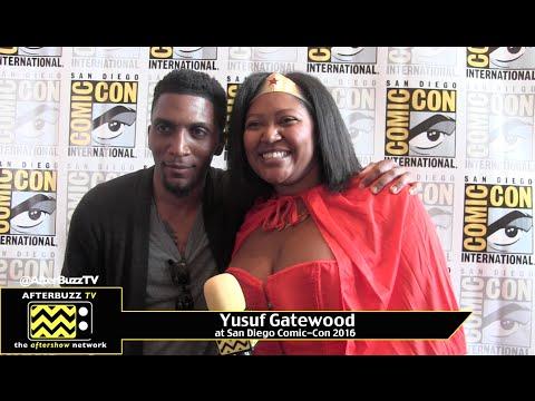 Yusuf Gatewood The Originals at San Diego ComicCon 2016