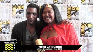 Yusuf Gatewood (The Originals) at San Diego Comic-Con 2016