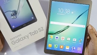 """Samsung Galaxy Tab S2 (9.7"""" Tablet) Unboxing & Overview"""