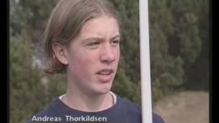 Spydkaster Andreas Thorkildsen som 15-åring