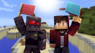 Minecraft Block Wars: Victory For All! (Funny Moments)