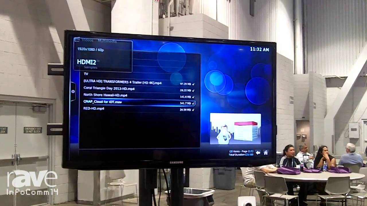 InfoComm 2014: QNAP Displays its Home Automation Solutions