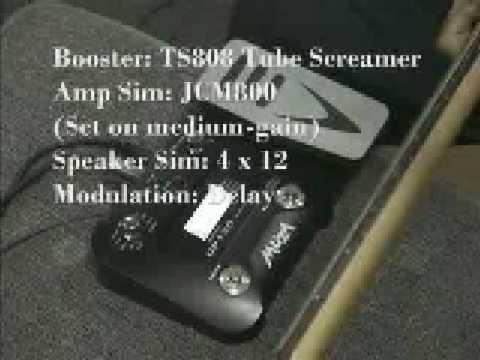 Muza GP120 Guitar Effects Processor