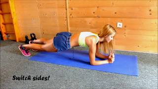 QUICK PLANK&CARDIO WORKOUT