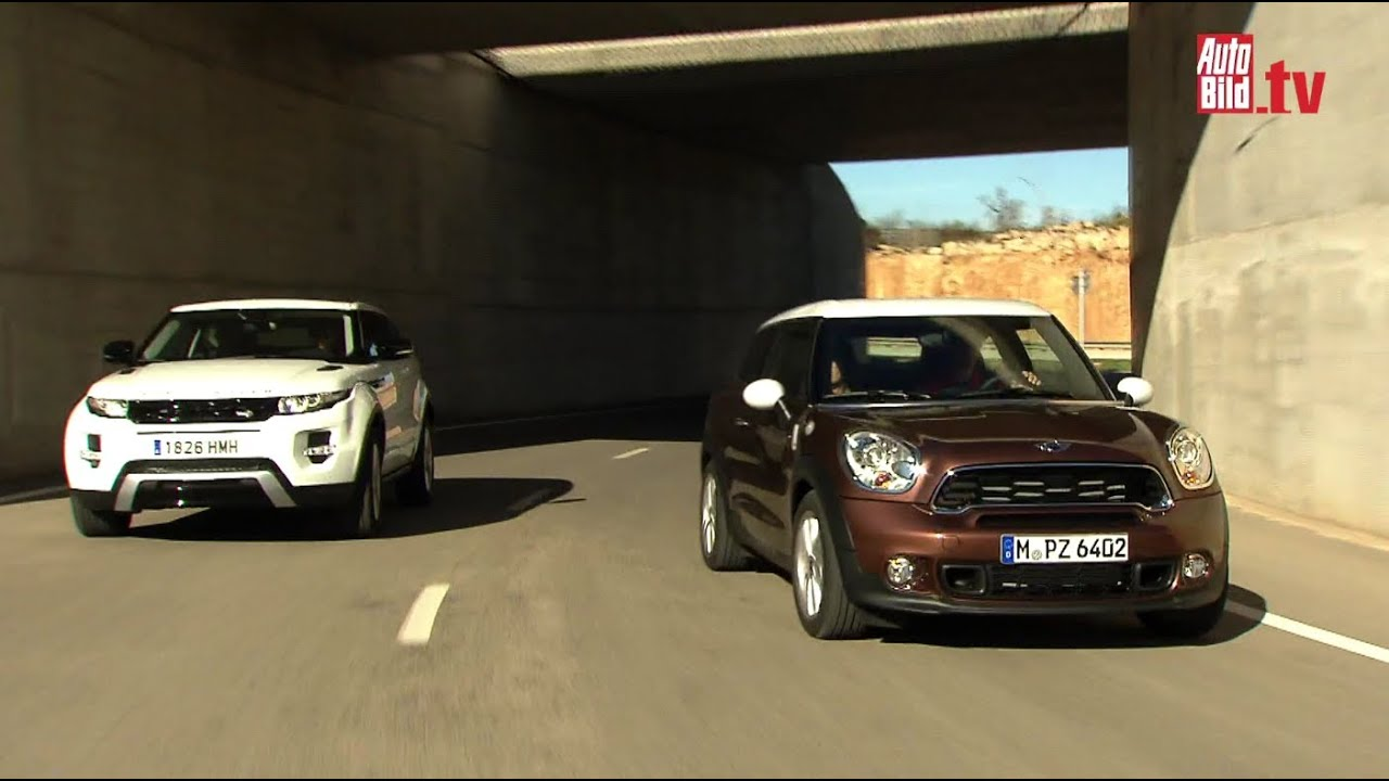 Mini Paceman Cooper S Range Rover Evoque Coupé Si4 Which One Is
