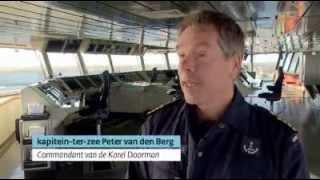 Marineschip Johan de Wit en Zweden samen piraten te lijf