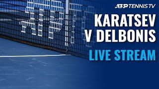 Aslan Karatsev vs Federico Delbonis   2021 ATP San Diego Open Live Stream