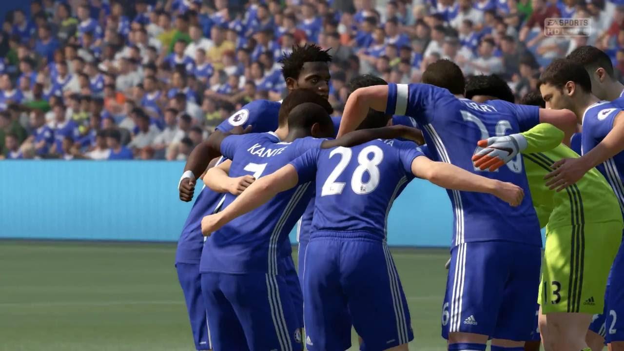 FIFA 17 DEMO Real Madrid vs Chelsea : 레알 마드리드 vs 첼시 ...