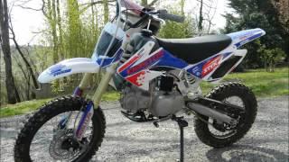 Présentation Dirt Bike Bastos BS 140