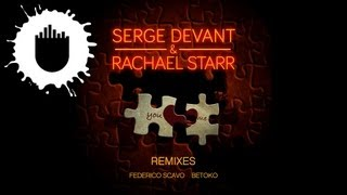 Serge Devant & Rachael Starr - You and Me (Federico Scavo Remix) (Cover Art)