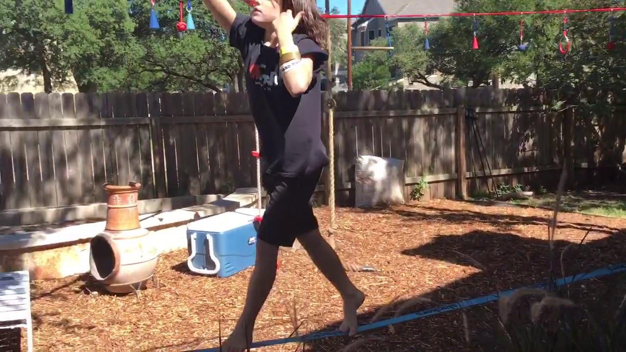 Ninjaline Wyatt - SLACKERS: Extreme Backyard Adventure ...