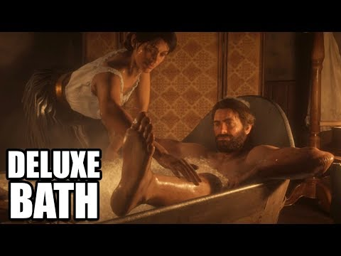RED DEAD REDEMPTION 2 - Taking a Bath - Deluxe Bath
