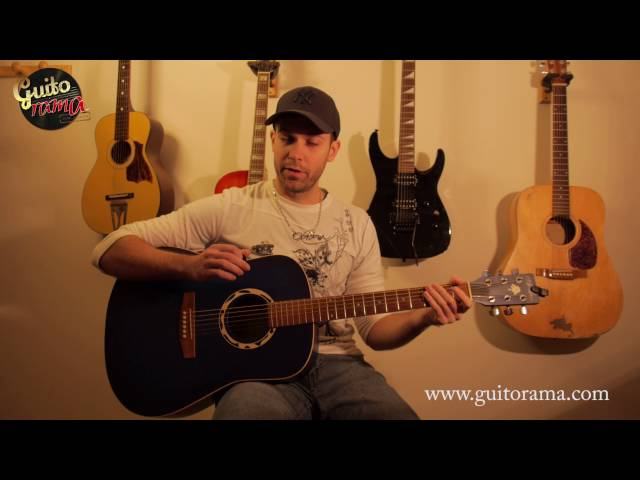 Cours guitare facile CENDRILLON / Telephone tuto 1/3