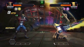 Marvel contest of champions legion vs core aw fights and recap of alliance war