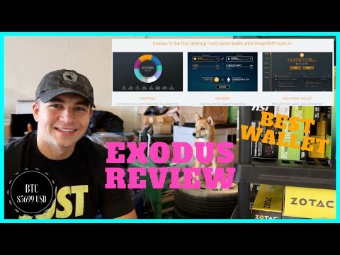 What is the Best CryptoCurrency Wallet? EXODUS Review vs Jaxx