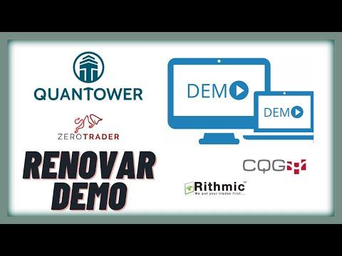 QUANTOWER / 🆕 Renovar cuenta demo