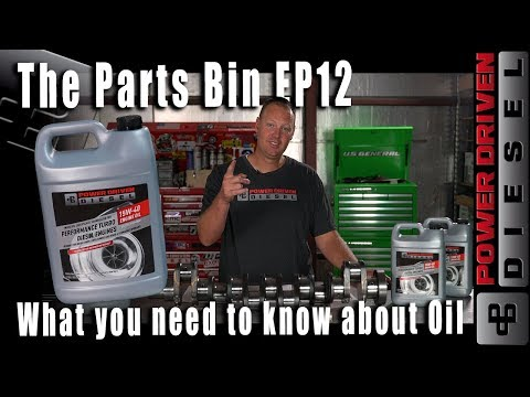 What You Need to Know About Diesel Engine Oil | Parts Bin EP 12 | Power Driven Diesel