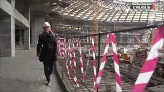 Крышу стадиона