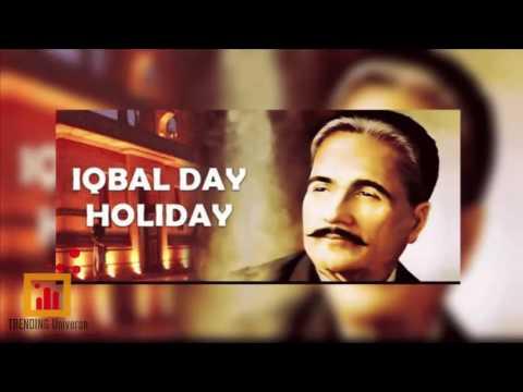 Iqbal day Holiday - 9 nov