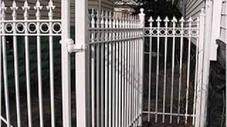 Galvanized Picket Fence,http://www.alanfence.com 786 587 8269
