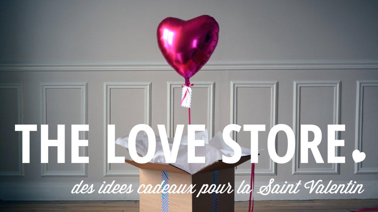 idées de Cadeaux pour la Saint Valentin ♥ - YouTube