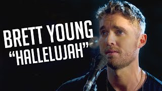 "Brett Young's Raw Cover of ""Hallelujah"" Will Make You Melt Video"