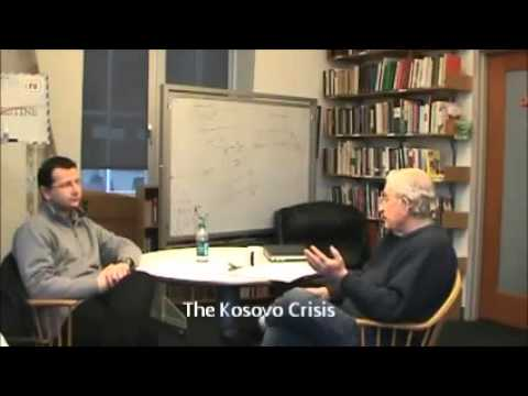 Noam Chomsky on  The Breakup of Yugoslavia, Kosovo crisis, EU, Germany, and other topics