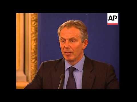Kouchner, Blair meeting to discuss Gaza, presser