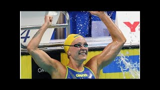 Sarah Sjostrom Wins Tighter-Than-Expected 100 Free Final in Glasgow