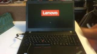 ThinkPad E570 i5 Lenovo 20H5-00A9US Review, Benchmark, Unboxing