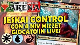 Jeskai Control con 4 Niv Mizzet a Rank Diamond! (MTG Arena ITA)