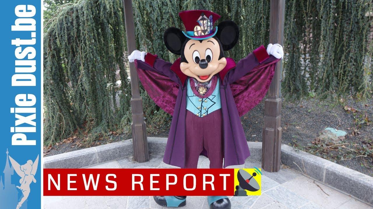 Saison Halloween Disneyland Paris 2019.Disneyland Paris News Report 12 February 2019